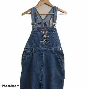 Mickey Unlimited vtg bib jean overalls. Medium
